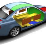 Зоны для шумоизоляция автомобиля